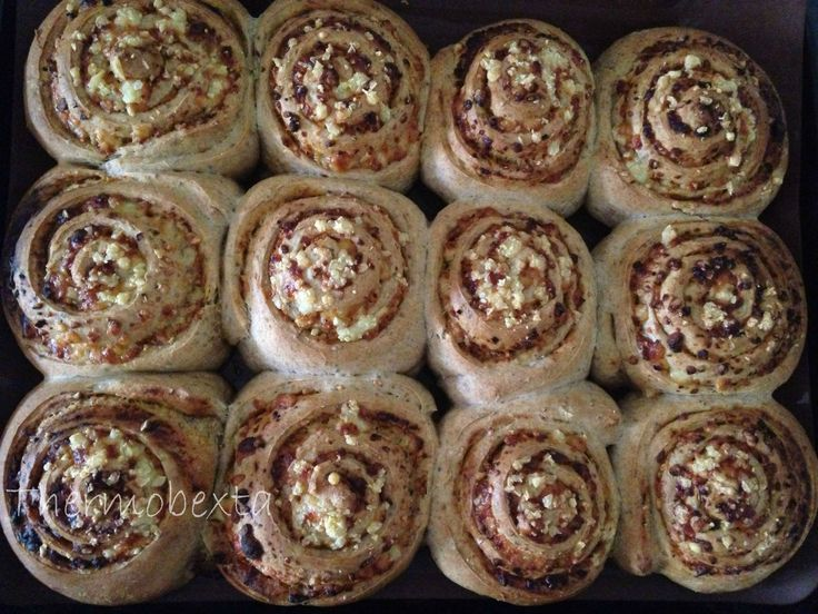There isalways a batch of these scrolls in my freezer, ready to throw into lunch boxes when needed. This dough is easy to work with, rises well and suitseither savoury or sweet fillings. For the...