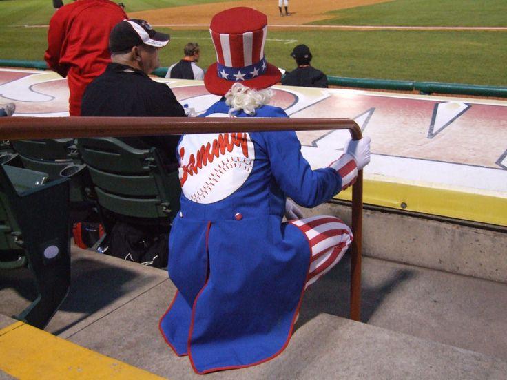 Sammie, Tri-City ValleyCats mascot; Class A-Short Season, New York-Penn League.