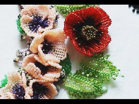Ndebelli flowers ~ Seed Bead Tutorials
