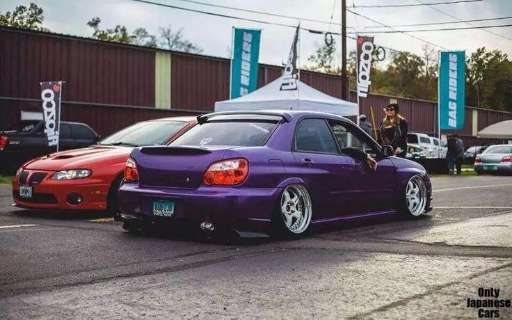 Subaru Impreza Sti Purple Cars Subaru Impreza Subaru