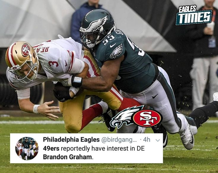 The San Francisco 49ers are looking for a trade involving star Eagle Brandon Graham. I highly doubt this will happen but something to keep an eye on anyways.  ----- / #BleedGreen #BirdGang #Eagles #EaglesNation #FlyEaglesFly #GangGreen #GoEagles #Philadelphia #PhiladelphiaEagles #PhiladelphiaPride #Philly - / #AmericanFootball #Football #NFL #NFC #NFCEast - / #NFLDraft