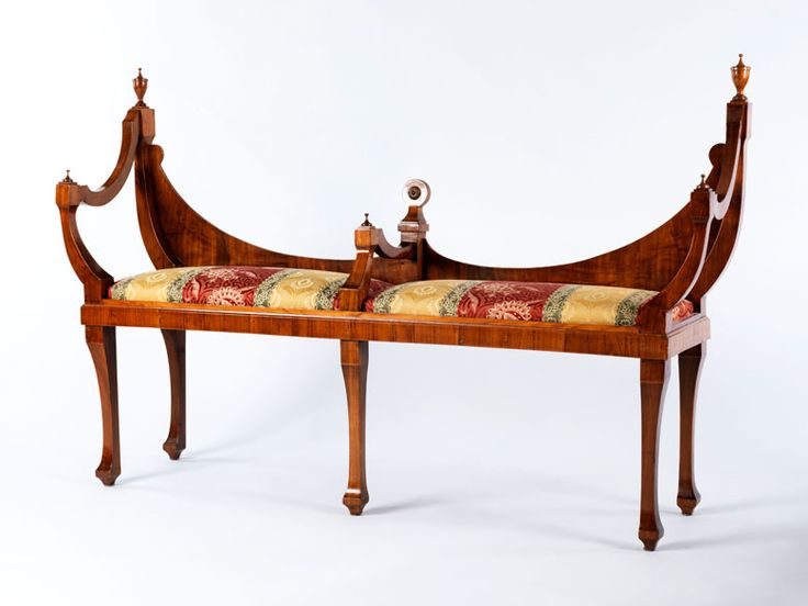 Neoclassical bench, Northern Italy, 19th century.