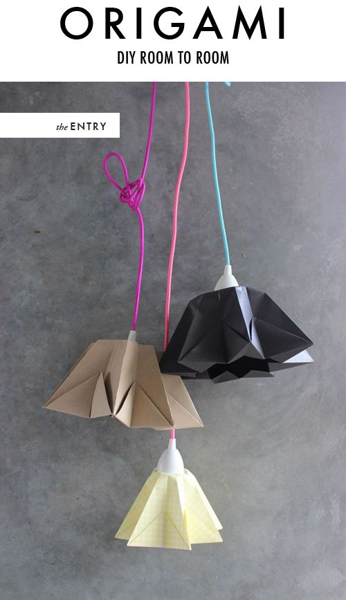 The House That Lars Built.: DIY room to room: Origami