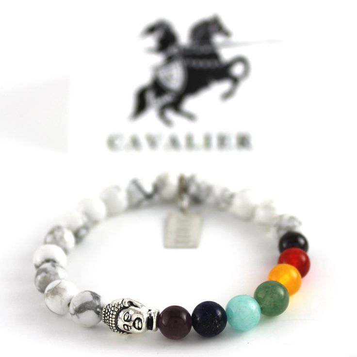 Cavalier Rainbow Pride Chakra Beads www.mycavalier.co