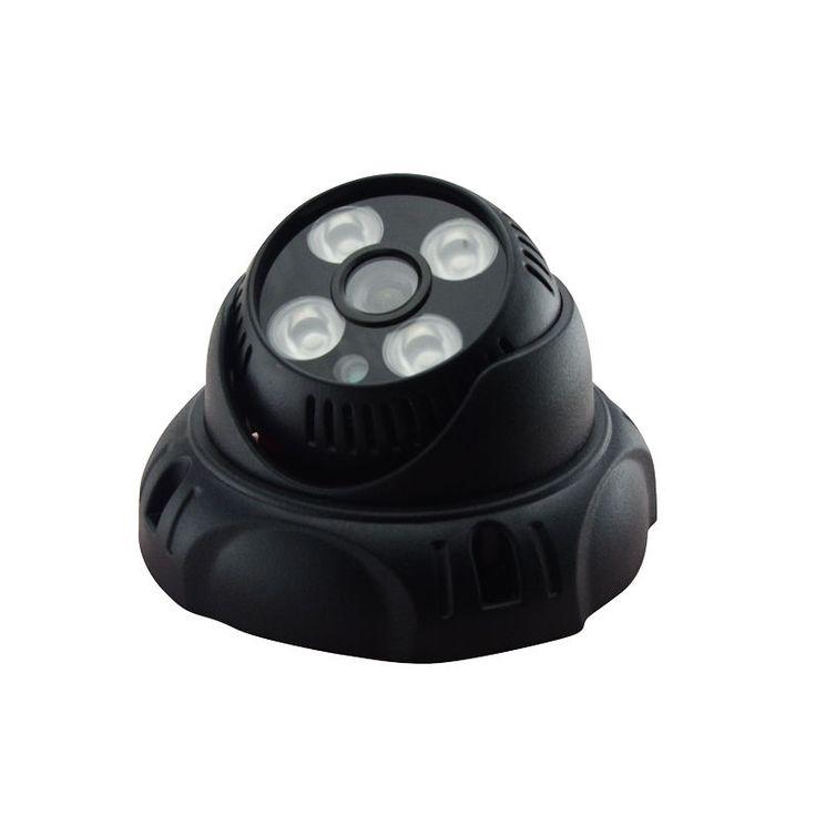 HD CVI 1080P 2MP CCTV Security Camera Indoor Dome Camera 4 IR Night Vision Black #HongJingTian