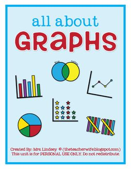 This unit is designed to expose your students to different types of graphs. The graphs included in this unit are: line graph, bar graph, tally mark...