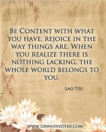 Love Lao Tzu, one of Dr Wayne Dyers mentors