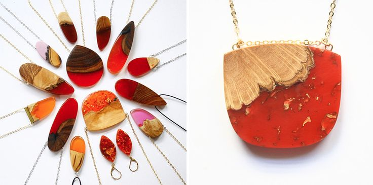 Artist Turns Old Wood Into Unique Jewelry – Woodworking ideas