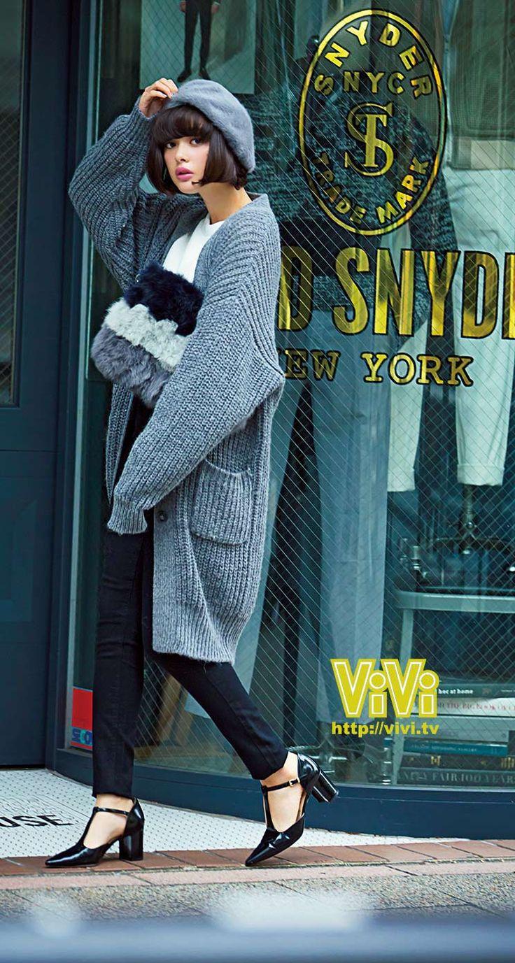 ViVi2015年1月号スマホ壁紙(玉城ティナ)  NET ViVi