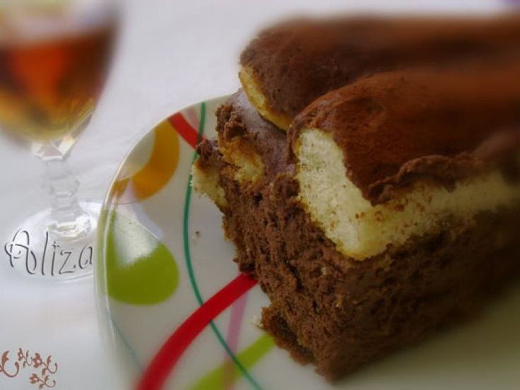 Reteta culinara Tiramisu cu ciocolata din Carte de bucate, Dulciuri. Specific Romania. Cum sa faci Tiramisu cu ciocolata