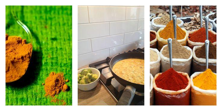 Curry kip aardappel