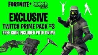 New Fortnite Free Twitch Prime Skin Fortnite Battle Royale Leaks