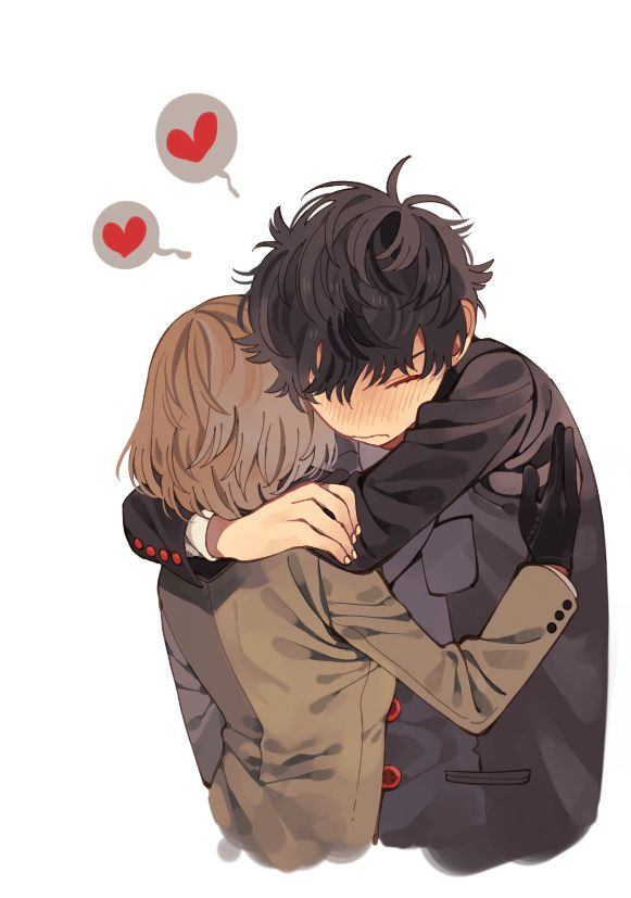 """Just shut up and hug me Akechi."" -Akira"