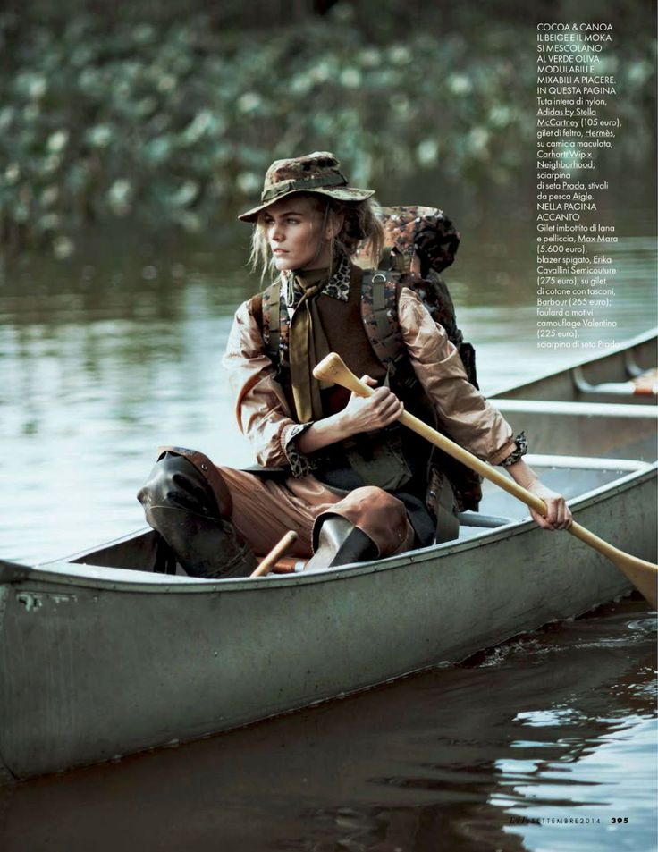 tendenze camouflage: emma stern nielsen and maritza veer by cedric buchet for vogue italia september 2014