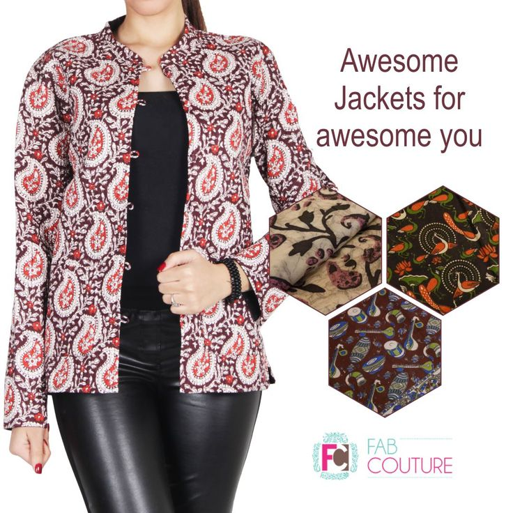 Awesome #jackets for awesome you with #FabCouture. Grab your fabric at: https://fabcouture.in/ . #FabCouture! #DesignerFabric at #AffordablePrices  #DesignerDresses #Fabric #Fashion #DesignerWear #ModernWomen #DesiLook #Embroidered #WeddingFashion #EthnicAttire #WesternLook #affordablefashion #GreatDesignsStartwithGreatFabrics #LightnBrightColors #StandApartfromtheCrowd #EmbroideredFabrics
