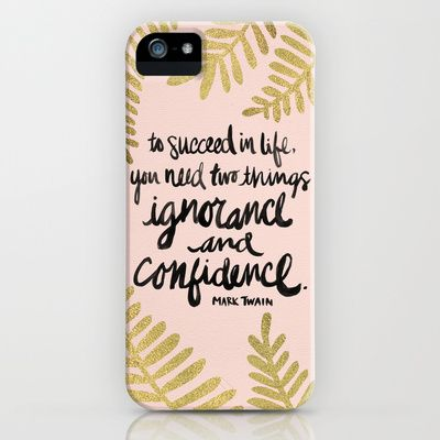 Ignorance & Confidence #2 iPhone & iPod Case by Cat Coquillette - $35.00
