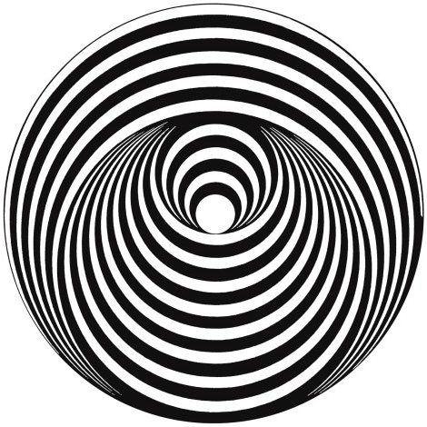 logo of the famous Vertigo Records label.