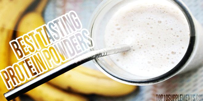 Some of the Best Tasting Protein Powders - Our Picks