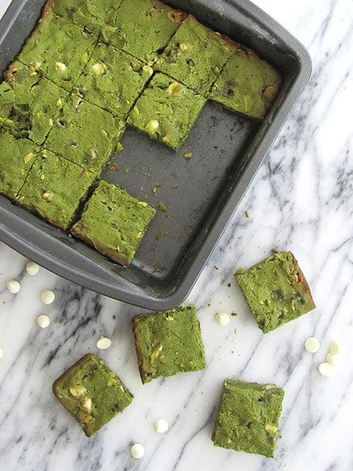 Green Tea Brownies | Fortune Goodies