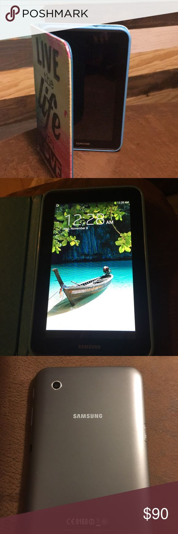 "Samsung S2 7"" tablet. EUC Samsung S2 7"" tablet. EUC. Very minor scratches. Has been kept in Case. Excellent working condition. Will take reasonable offer. Other"