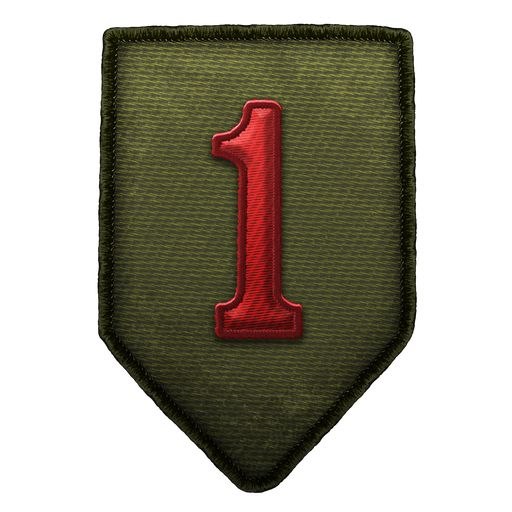 """1st Infantry Division """"The Big Red One"""""""