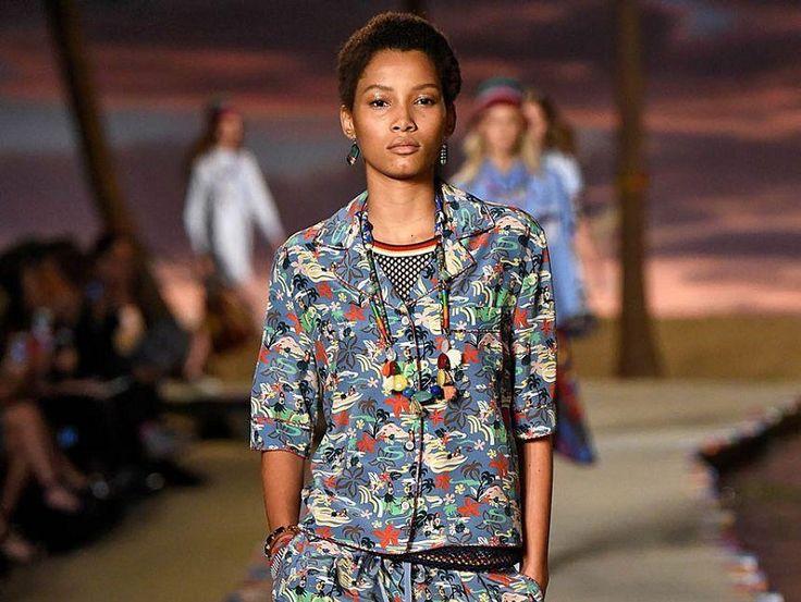 Коллекция весенне-летней одежды Tommy Hilfiger: фото
