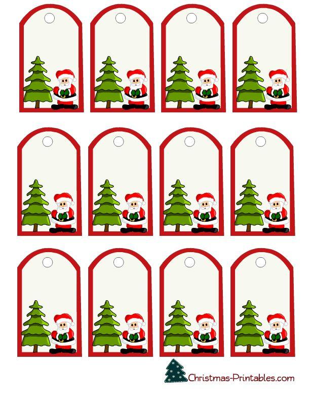 63 best printable christmas gift tags images on pinterest free printable free printable gift for Name tags christmas