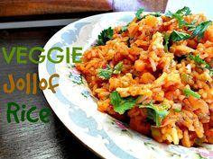 Veggie Jollof Rice