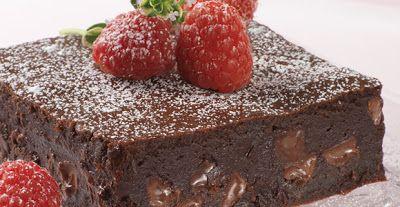 Mine Oppskrifter: Brownies med sjokolade