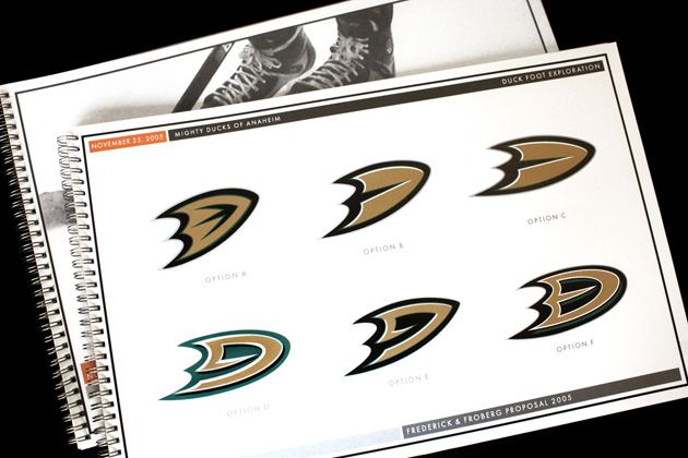An inside look at the Anaheim Ducks' logo change from 2007 — their Stanley Cup championship year | NHL | Sporting News