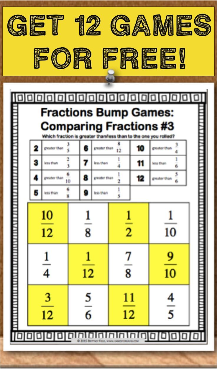 175 best Fractions 5th Grade images on Pinterest | Math fractions ...
