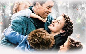 Просмотреть обои эта замечательная жизнь, 1946, джеймс стюарт, донна рид, лайонел бэрримор