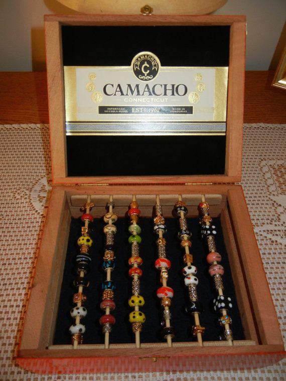 Jewelry Bead Storage Display Box For Pandora Type Beads