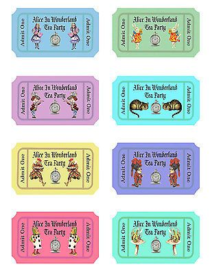 The 25+ best Wonderland tickets ideas on Pinterest Alice in - blank printable tickets