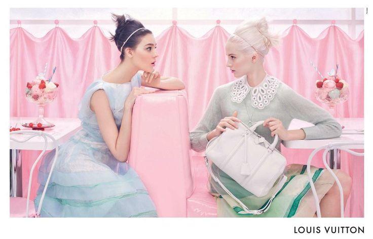 Campagne Louis Vuitton Printemps/Eté 2012.