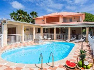 Les Colibris Villa avec piscine privée sur la route des plages – prix d'appel (Réf:6003 Villa Martinique SainteAnne)