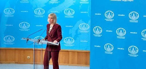 A Russian Foreign Ministry spokeswoman warned the United States to avoid involvement in upcoming Russian presidential elections.