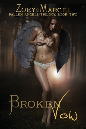 Broken Vow (Fallen Angels 2) - MF with multiple partners, group sex, FF Paranormal/Contemporary erotica