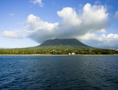 Nevis, sister island to St. Kitts