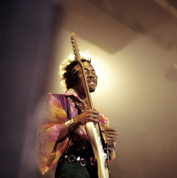 Jimi Hendrix / photos by David Redfern