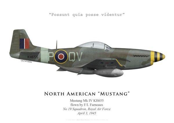 Mustang Mk IV, No 19 Squadron, Royal Air Force, 1945