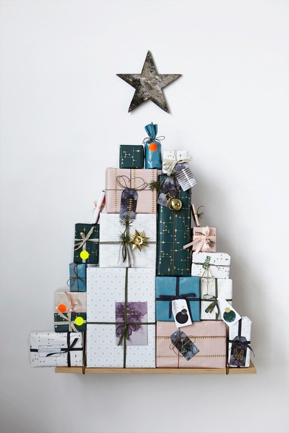 10 Ways to DIY a Christmas Tree Out of Things That Are Not Trees — Merry Minimalist Christmas