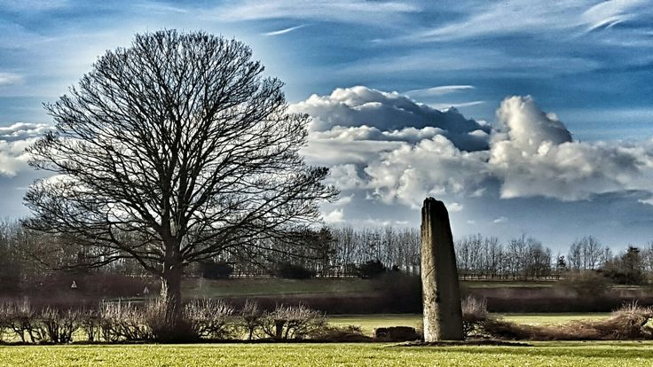 Devil's Arrows. North Yorkshire.