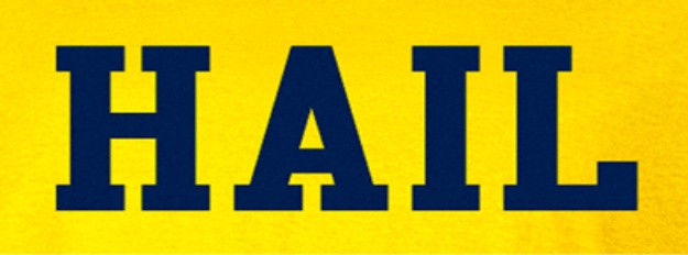 Hail To The Victors Michigan Athletics Pinterest The