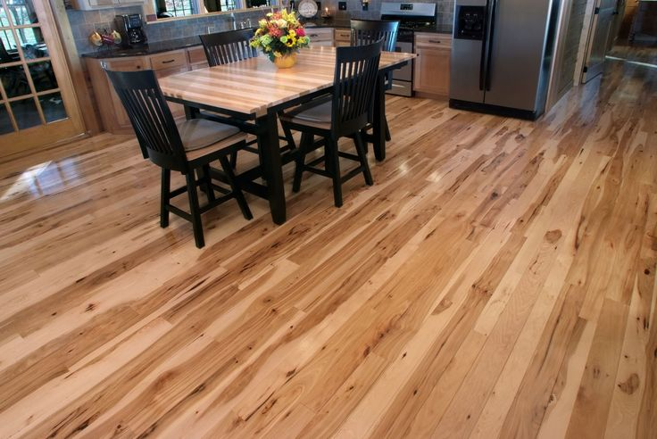 3 Quot Amp 4 Quot Wide Character Grade Hickory Hardwood Floor With A