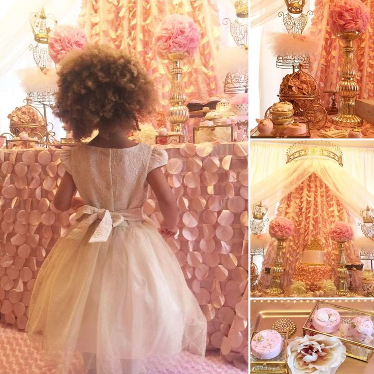 Beautiful Princess Birthday Party | CatchMyParty.com