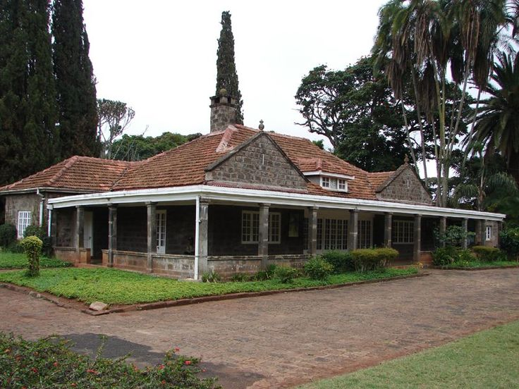 Out of Africa - As attractive as the stars of the movie was her House.  Karen Blixen House In Nairobi, Kenya
