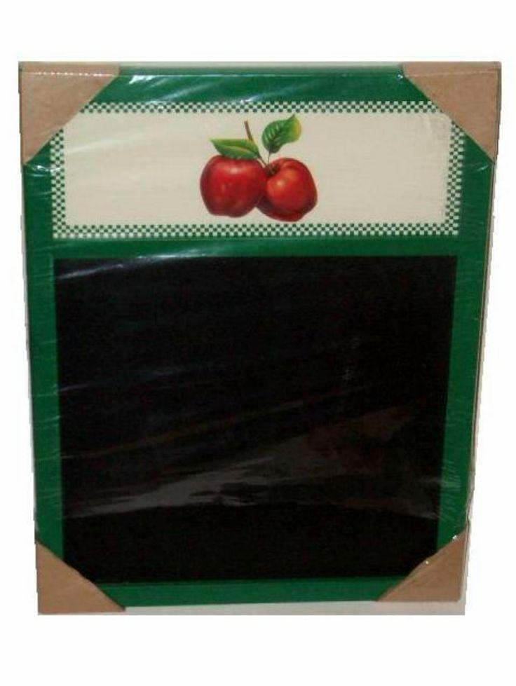 Apples Menu Memo Chalk Board $19.95