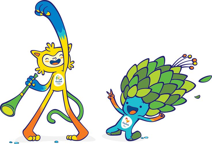 Character Design for 2016 Rio Olympic Games |  design by Luciana Eguti and Paulo Muppet of Birdo Studio