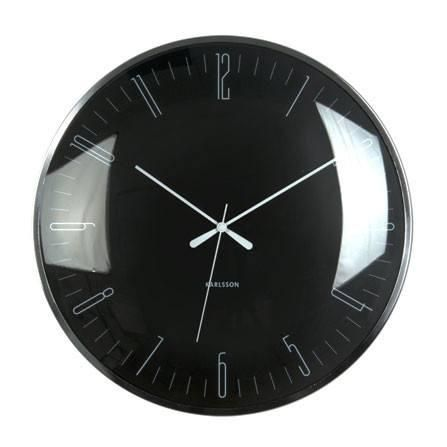 Karlsson Dragonfly Black Wall Clock (40cm) | Koop.co.nz